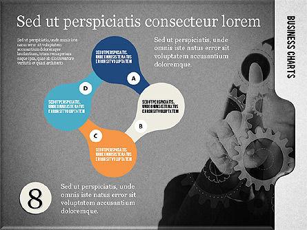 Presentation with Flat Shapes and Photo, Slide 16, 02130, Presentation Templates — PoweredTemplate.com