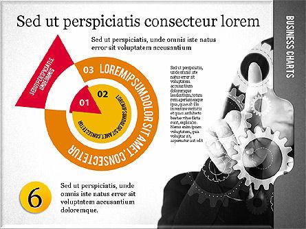 Presentation with Flat Shapes and Photo, Slide 6, 02130, Presentation Templates — PoweredTemplate.com