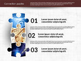 Puzzle Diagrams: Presentation with Puzzle Pieces #02132