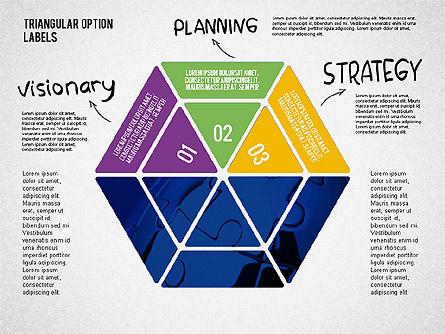 Set Of Triangular Option Labels Slide 4