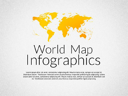 World Map Infographics, 02137, Infographics — PoweredTemplate.com