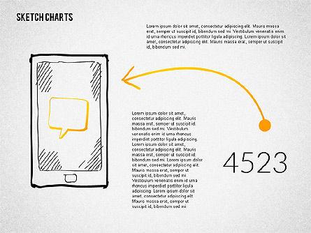 Presentation with Sketch Style Shapes, Slide 8, 02138, Shapes — PoweredTemplate.com