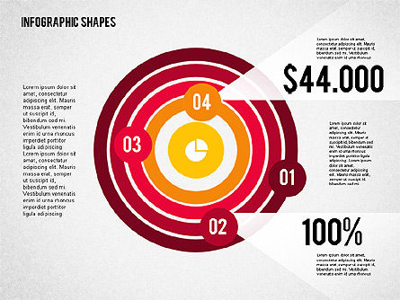Flat Infographic Shapes Slide 3