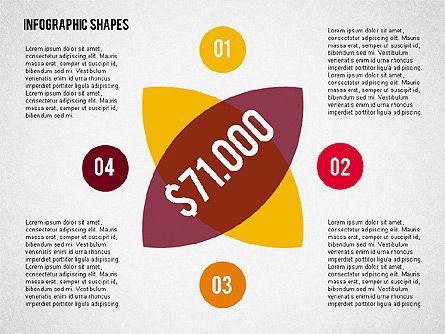 Flat Infographic Shapes Slide 4