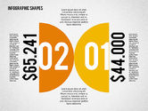 Infographics: Flat Infographic Shapes #02140