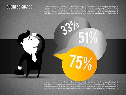 Options Set with Character, Slide 13, 02145, Business Models — PoweredTemplate.com