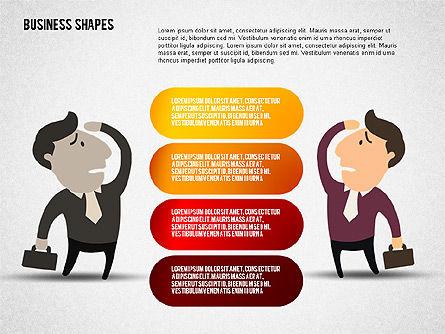 Options Set with Character, Slide 8, 02145, Business Models — PoweredTemplate.com