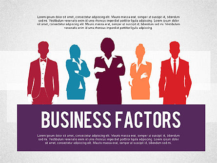 Presentation Templates: Business Factors Presentation #02147