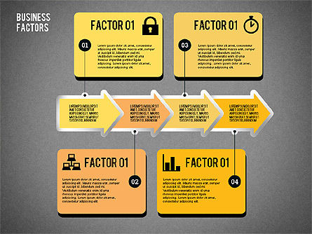 Business Factors Presentation, Slide 12, 02147, Presentation Templates — PoweredTemplate.com
