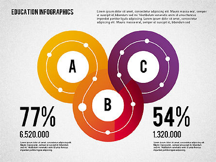 Education Infographics, Slide 3, 02148, Education Charts and Diagrams — PoweredTemplate.com