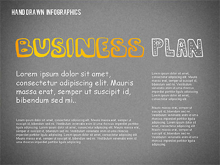 Business Plan in Hand Drawn Style, Slide 9, 02151, Presentation Templates — PoweredTemplate.com