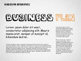 Presentation Templates: Business Plan in Hand Drawn Style #02151