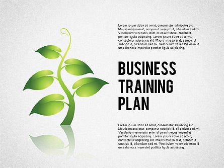 Stage Diagrams: Business Training Plan #02153
