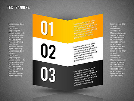 Text Boxes in Flat Design, Slide 9, 02154, Text Boxes — PoweredTemplate.com