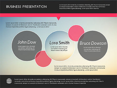 Modern Presentation Template, Slide 3, 02158, Presentation Templates — PoweredTemplate.com