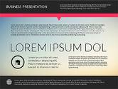 Presentation Templates: Modern Presentation Template #02158