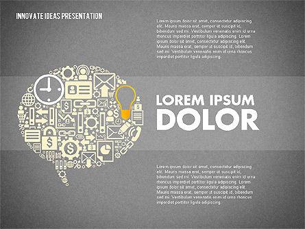 Innovative Ideas Presentation, Slide 10, 02159, Presentation Templates — PoweredTemplate.com