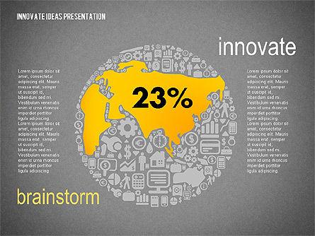 Innovative Ideas Presentation, Slide 14, 02159, Presentation Templates — PoweredTemplate.com