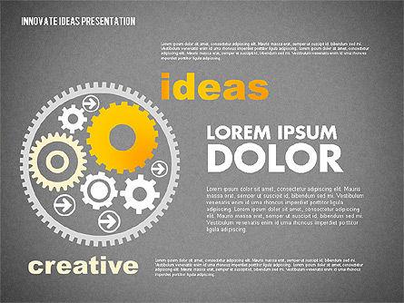 Innovative Ideas Presentation, Slide 15, 02159, Presentation Templates — PoweredTemplate.com