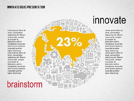 Innovative Ideas Presentation, Slide 6, 02159, Presentation Templates — PoweredTemplate.com