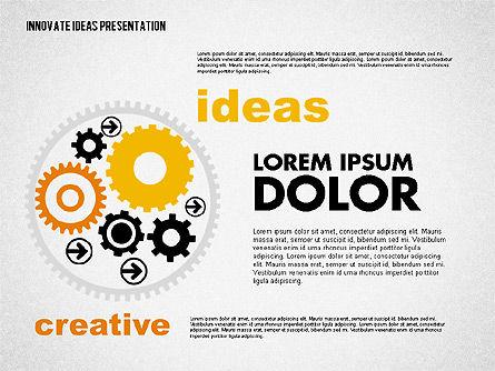 Innovative Ideas Presentation, Slide 7, 02159, Presentation Templates — PoweredTemplate.com
