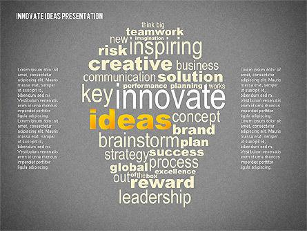 Innovative Ideas Presentation, Slide 9, 02159, Presentation Templates — PoweredTemplate.com