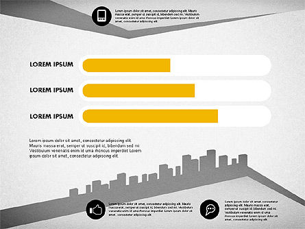 Urban Presentation Template, Slide 3, 02160, Presentation Templates — PoweredTemplate.com
