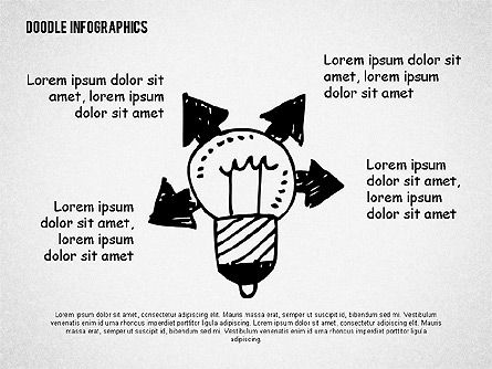 Doodle Shapes, Slide 3, 02161, Shapes — PoweredTemplate.com