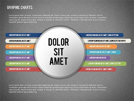 Charts Collection in Flat Design, Slide 14, 02163, Business Models — PoweredTemplate.com