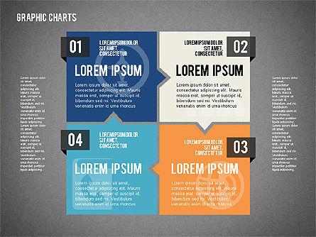 Charts Collection in Flat Design, Slide 15, 02163, Business Models — PoweredTemplate.com