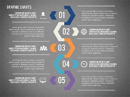 Charts Collection in Flat Design, Slide 16, 02163, Business Models — PoweredTemplate.com