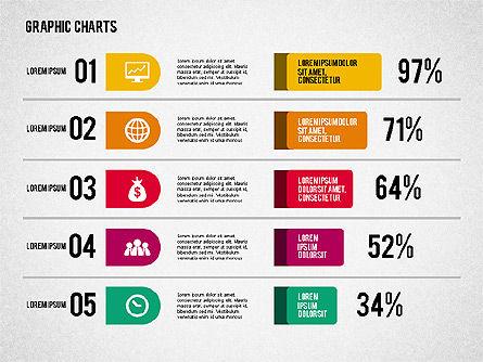 Charts Collection in Flat Design, Slide 5, 02163, Business Models — PoweredTemplate.com