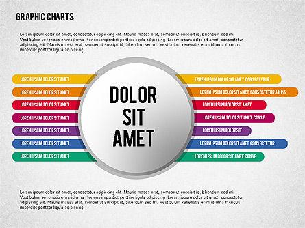 Charts Collection in Flat Design, Slide 6, 02163, Business Models — PoweredTemplate.com