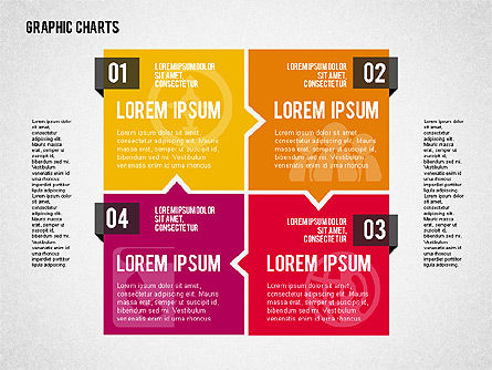 Charts Collection in Flat Design, Slide 7, 02163, Business Models — PoweredTemplate.com