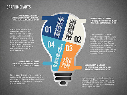 Charts Collection in Flat Design, Slide 9, 02163, Business Models — PoweredTemplate.com