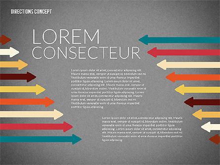 Lines and Arrows, Slide 11, 02164, Shapes — PoweredTemplate.com