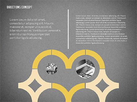 Lines and Arrows, Slide 12, 02164, Shapes — PoweredTemplate.com