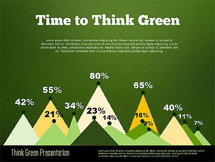 Think Green Presentation Template, Slide 17, 02167, Presentation Templates — PoweredTemplate.com