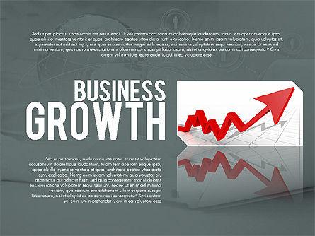 Presentation Templates: Business-Wachstum Präsentation Vorlage #02169