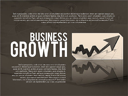 Business Growth Presentation Template, Slide 11, 02169, Presentation Templates — PoweredTemplate.com