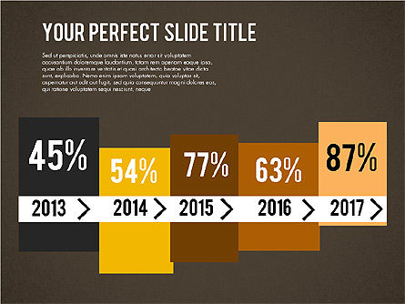 Business Growth Presentation Template, Slide 12, 02169, Presentation Templates — PoweredTemplate.com