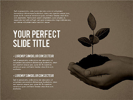 Business Growth Presentation Template, Slide 15, 02169, Presentation Templates — PoweredTemplate.com