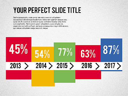 Business Growth Presentation Template, Slide 2, 02169, Presentation Templates — PoweredTemplate.com