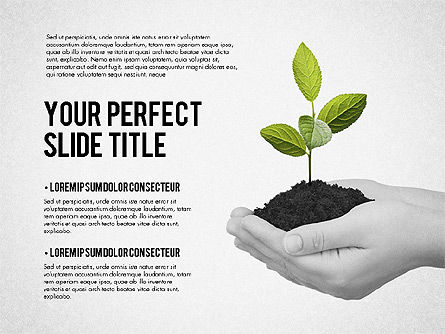 Business Growth Presentation Template, Slide 5, 02169, Presentation Templates — PoweredTemplate.com