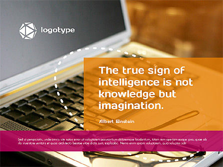 Intelligence Presentation Template, Slide 2, 02170, Presentation Templates — PoweredTemplate.com