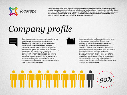 Company Profile Presentation Template For Powerpoint