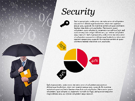 Company profile presentation template for powerpoint for Security company profile template