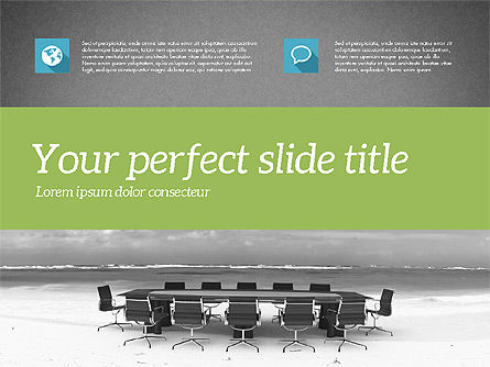Business Consulting Presentation Template, Slide 16, 02172, Presentation Templates — PoweredTemplate.com