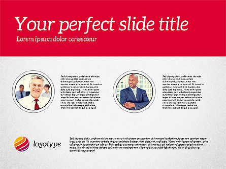 Business Consulting Presentation Template, Slide 7, 02172, Presentation Templates — PoweredTemplate.com