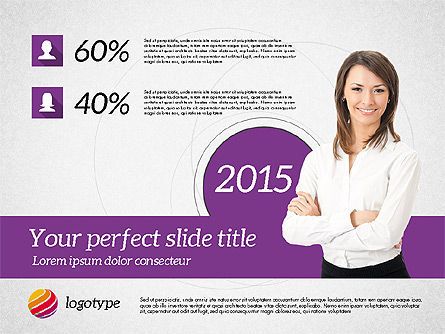 Business Consulting Presentation Template, Slide 8, 02172, Presentation Templates — PoweredTemplate.com